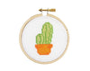 Tiny Cactus Mini Cross Stitch Kit - Case of 4