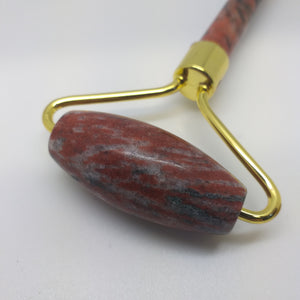 Facial Massage Roller - Breciated Jasper