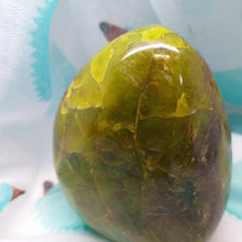 Green Opal polished stand up