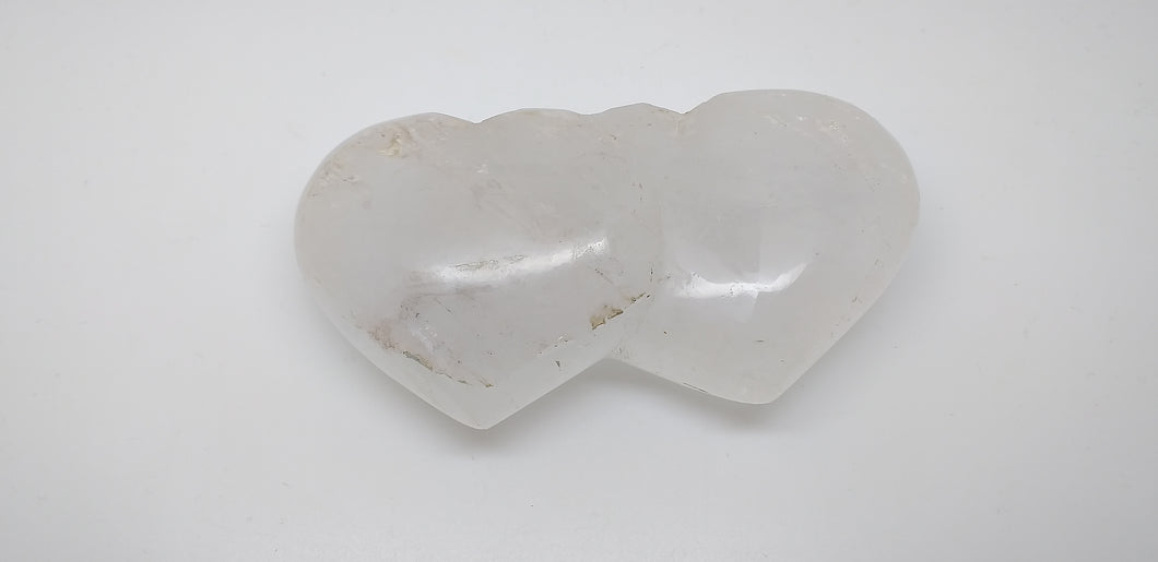 Gemstone double Love Hearts