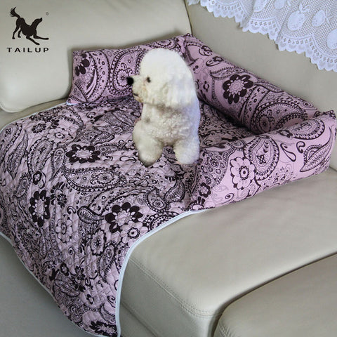 Paisley and Floral Sofa Cover