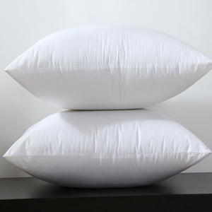 pillow insert cushion white 17x17