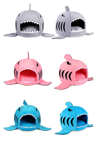 shark shaped doghouse