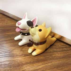Dog door stopper