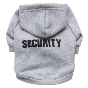 Dog Security hooded Sweathshirt