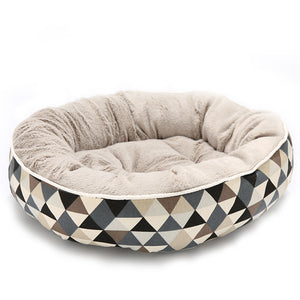 Round Luxury Dog Bed pattern