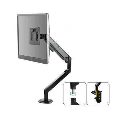 Evolve Gas Spring Twin Screen Monitor Arm