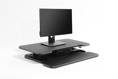 Deskalator desktop riser gas lift