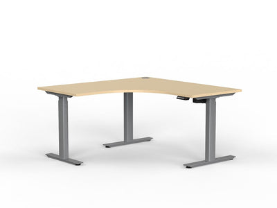 Standing Corner Electric height adjustable standing desk
