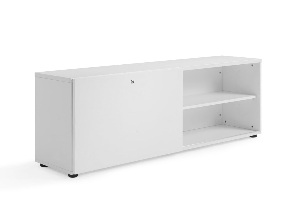 Ultimo Sliding Door Cupboard 1600 mm White