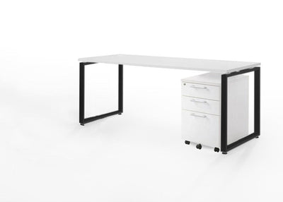Office Desk and Storage Combo