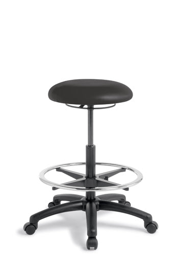 Button High-Lift Stool