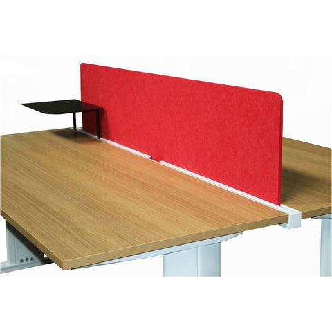 E - Panel with Docking Rail for Desk