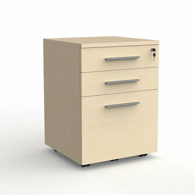 cubit 2 drawer and file mobile pedestal