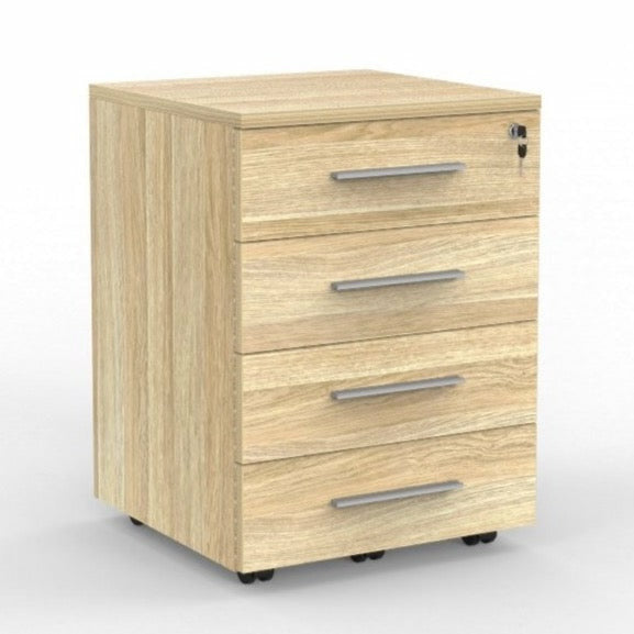 cubit 4 drawer mobile pedestal