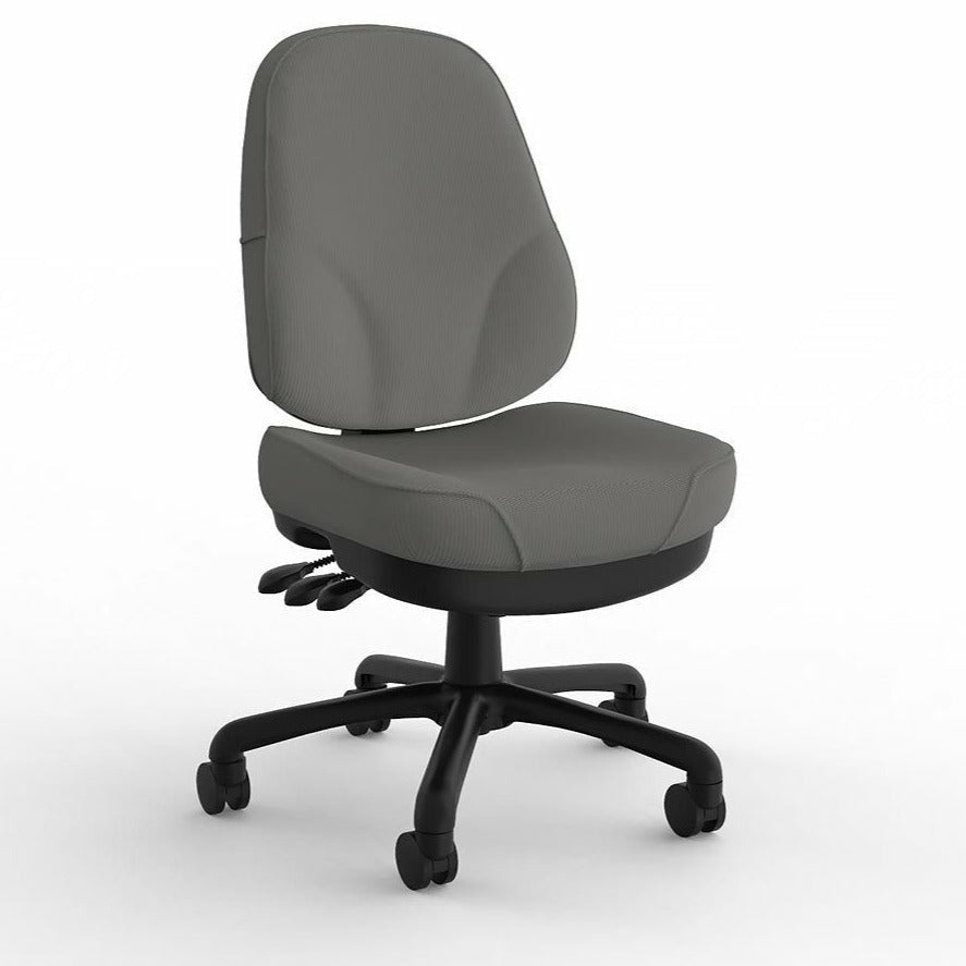 Plymouth Heavy Duty Office Chair Crown Fabric