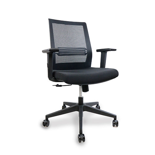 Rio Black Mesh Chair