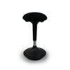 black wobble standing stool