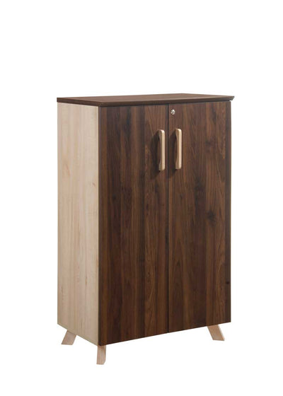 Wooden doors office cupboard Dark Oak