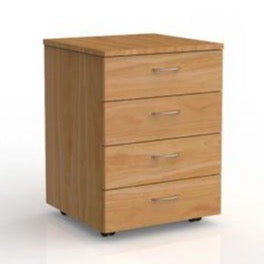 Mobile File Pedestal 4 Drawers