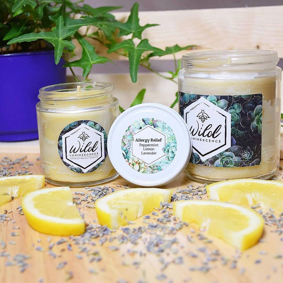 Allergy Relief Jar Candle