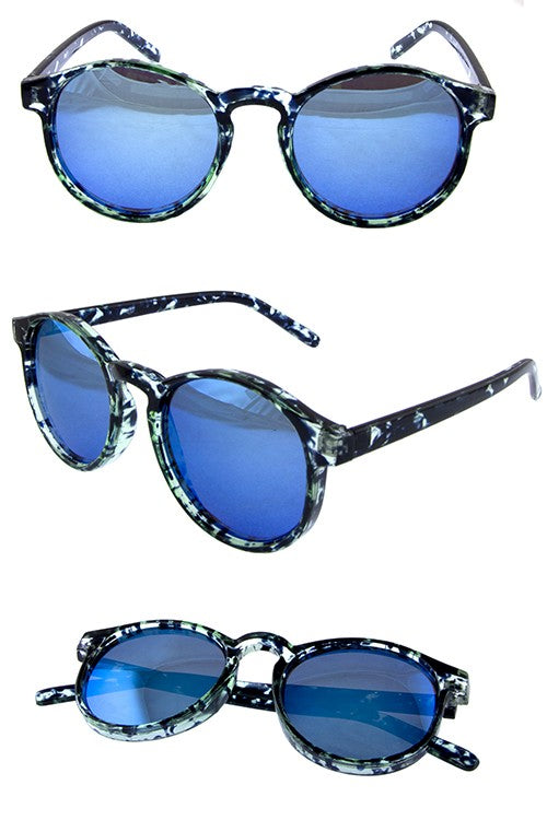 Blue Mulit Perfect Fit Sunglasses