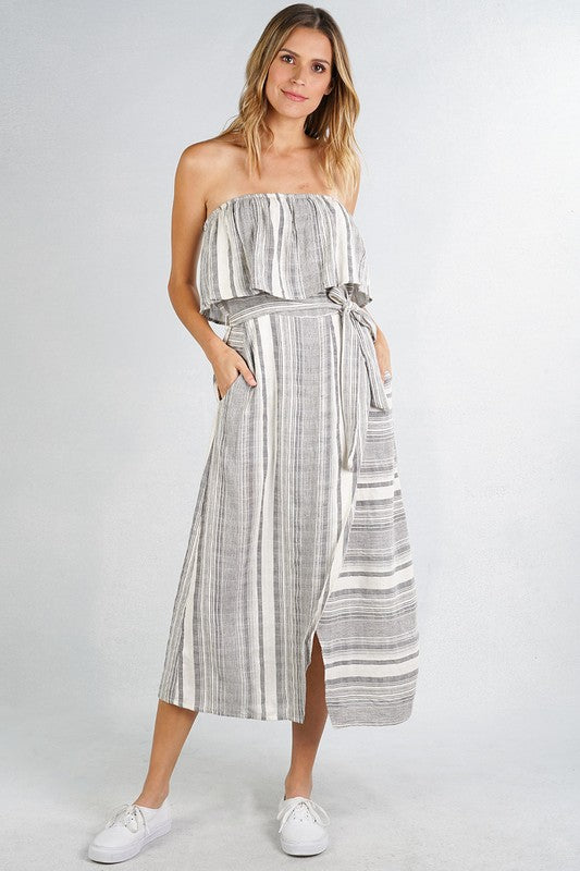Boatin' Time Tube Top Dress