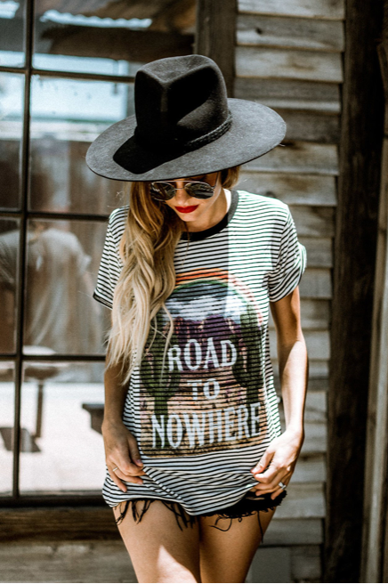 Road to Nowhere Tee