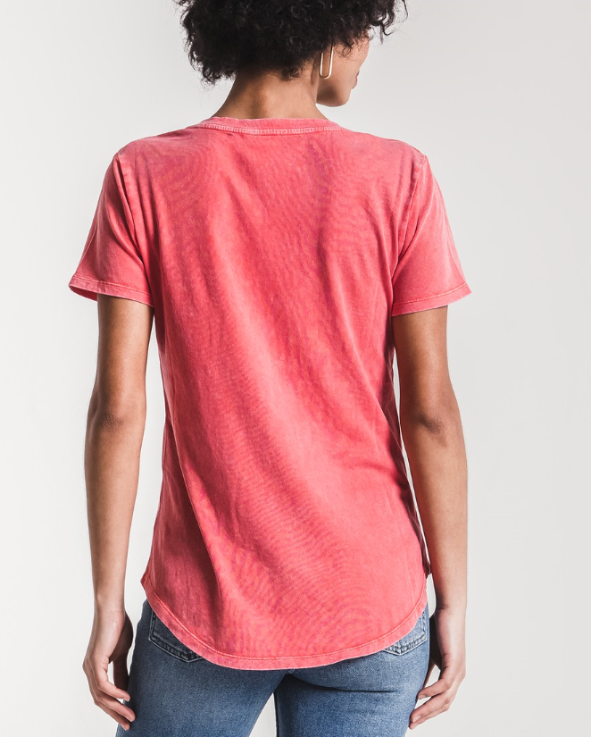 The Washed Cotton Pocket Tee (more colors)