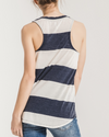 The Venice Striped Racer Tank (more colors)
