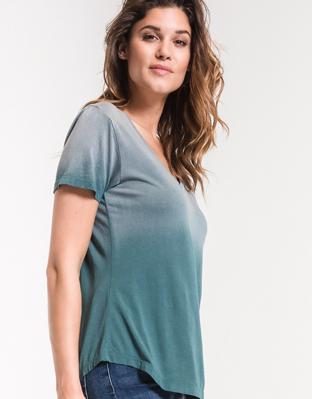 The Ombre V-neck Tee (more colors)