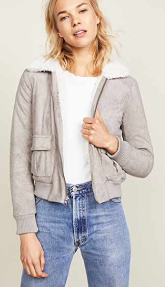 Ira Reversible Jacket With Faux Fur Lining