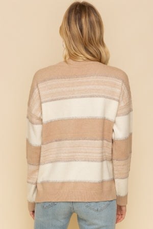 The Tan Eleanor Sweater