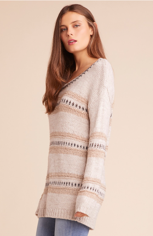 Spice of Life Striped Sweater