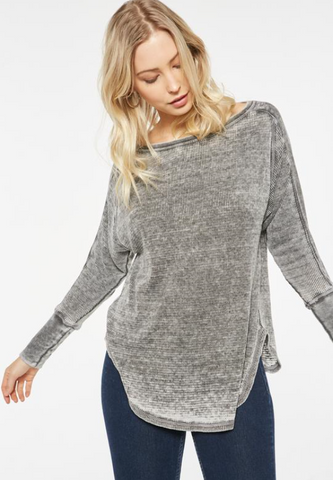 Harper Pullover in Shade Brooke
