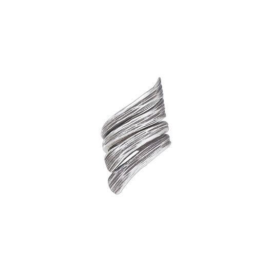 Diagonal Wide Wrap Band Ring