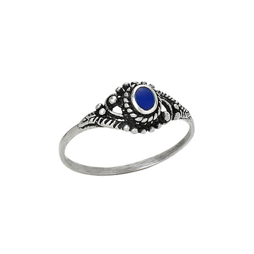 Small Oval Lapis Ring