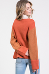 The PC Color-Block Sweater