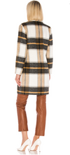 Cher Check Blazer Coat