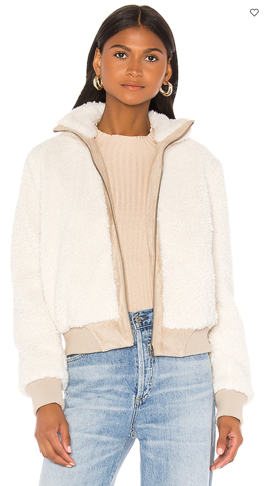 Kendal Reversible Faux Suede With Sherpa Flight Jacket