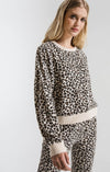 Mini Leopard Long Sleeve Pullover