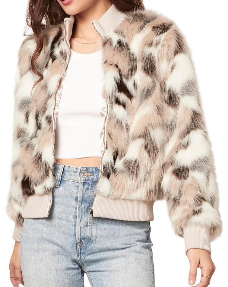 Danae Faux Fur Jacket