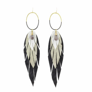 Pluma Earrings-Nikki