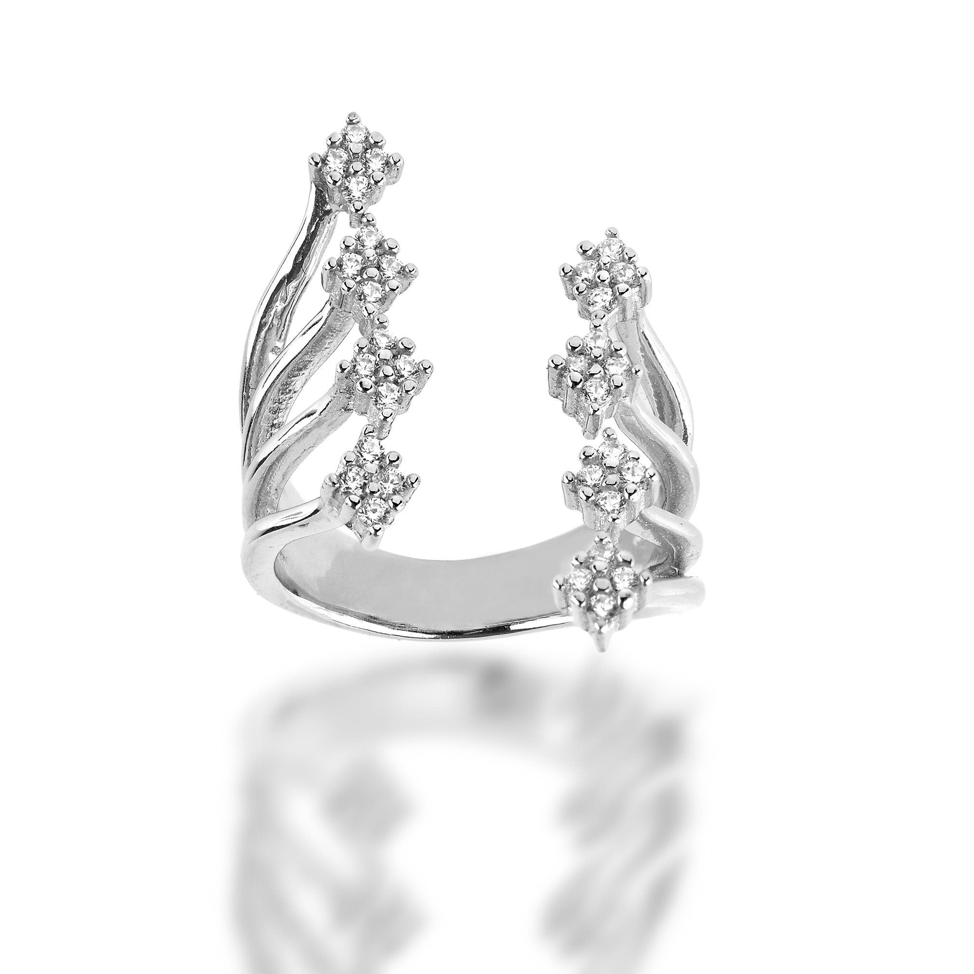 Strand Ring - Fiyah Jewellery - 1