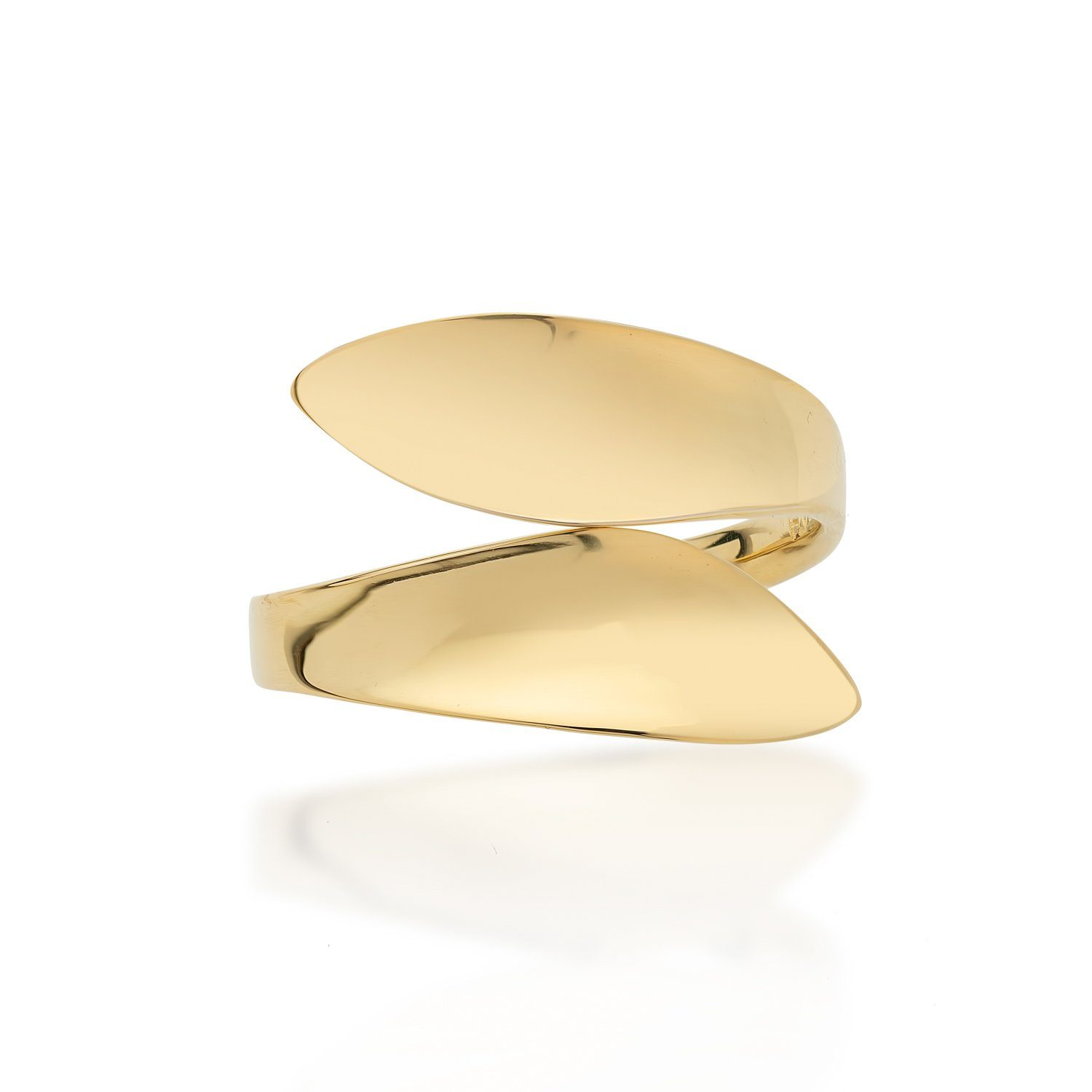 9ct Gold Adjustable Wave Ring