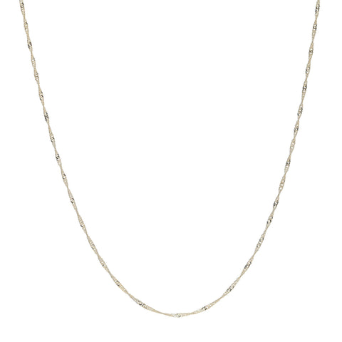 9ct Gold Prince of Wales Chain - Fiyah Jewellery - 2