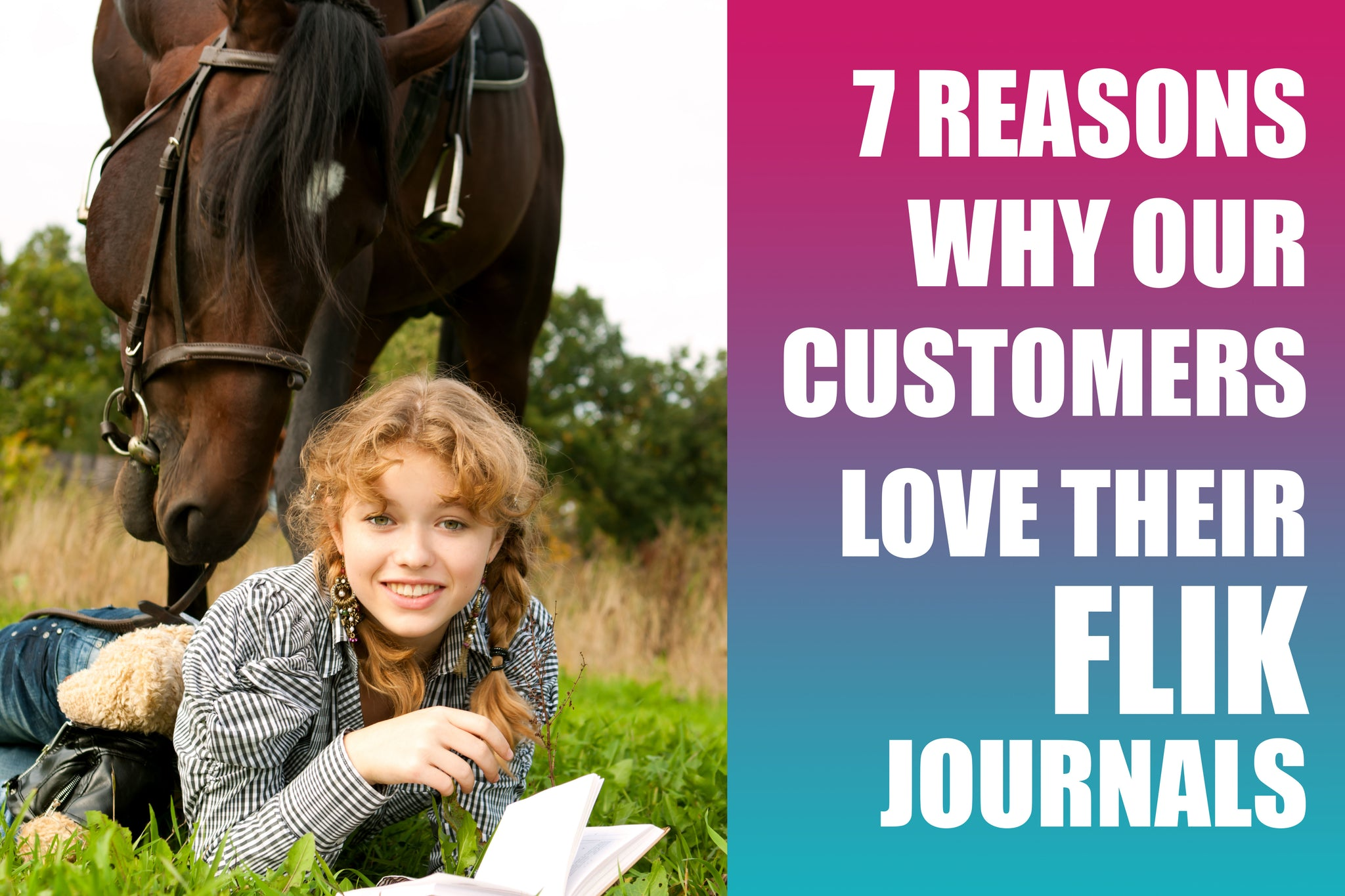 7 reasons why customers love managing their horses with Flik Journals.