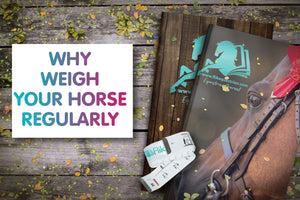 Why weigh your horse regularly.