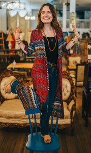 Assorted Boho Cardigan