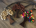 Bead Tree Wooden Necklace